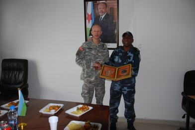 MAJ Chaney and COL Cher